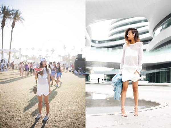 """Skort - Chiếc quần """"tràn ngập"""" street style thế giới Hè 2013 18"""