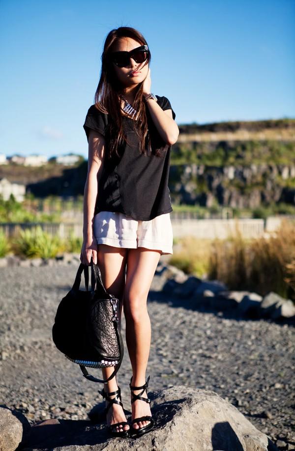 """Skort - Chiếc quần """"tràn ngập"""" street style thế giới Hè 2013 3"""