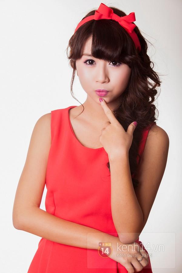 Điểm mặt 3 nữ sinh Phan Đình Phùng cực hot 3