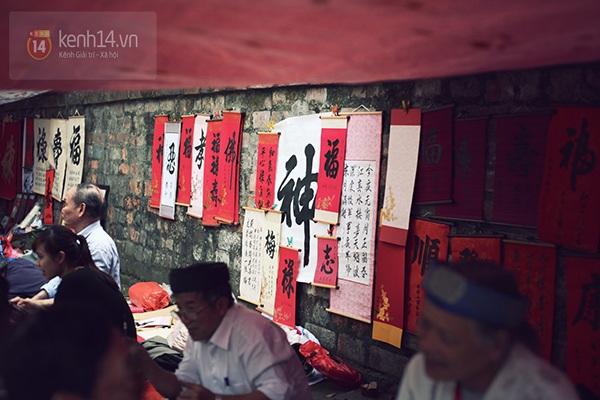 An Japan, Khả Ngân dạo phố đầu xuân, xin chữ ông đồ 14