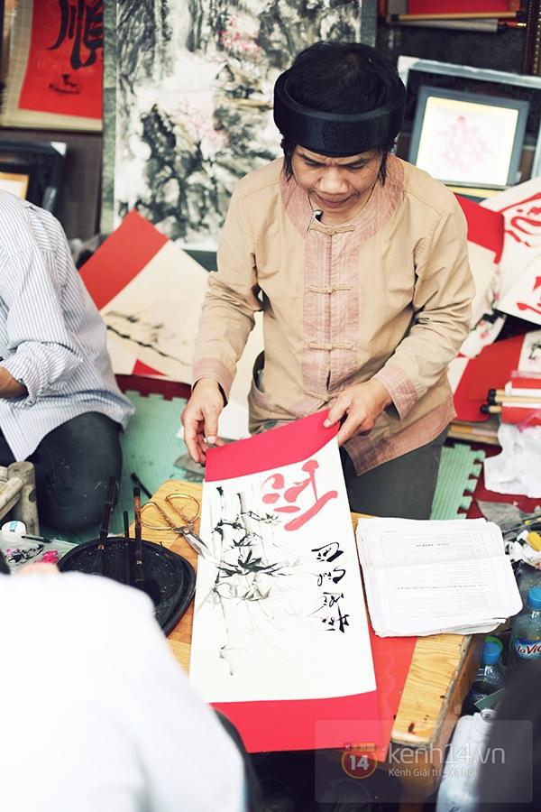 An Japan, Khả Ngân dạo phố đầu xuân, xin chữ ông đồ 16