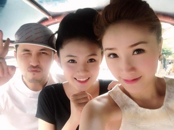Những hot girl là bạn gái xinh xắn của sao Việt 7