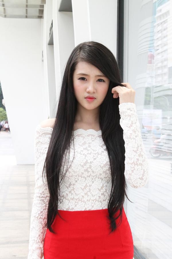 Những hot girl là bạn gái xinh xắn của sao Việt 8