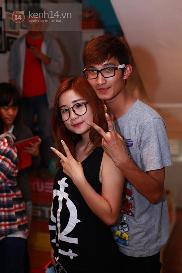 Chi Pu, Sa Lim, Quỳnh Anh Shyn thân thiết trong buổi offline của St.319 9