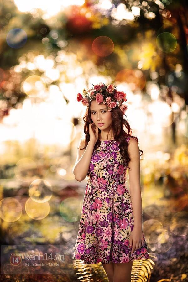Ngỡ ngàng hot girl Việt giản dị mà cực dễ thương khi mặc quân phục 19