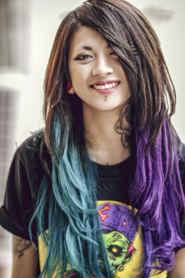 """Lee Zin - Cô gái Hà Nội cực hot vì xinh và """"dị"""" 5"""
