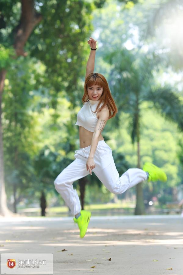 Hana Giang Anh - Cô nàng HLV thể dục 20 tuổi cực hot trên Youtube 11