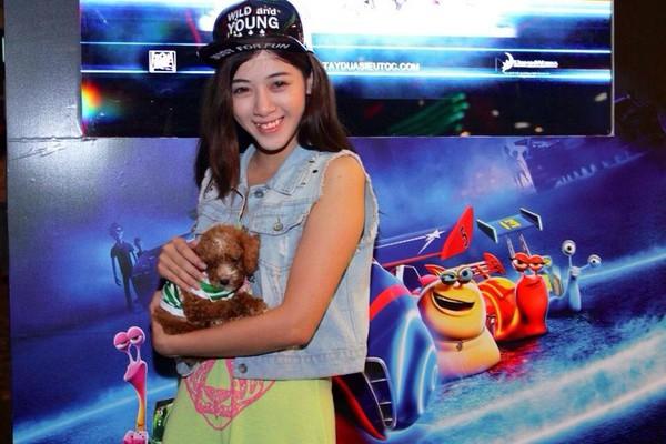 Ngắm hot teen Việt nhắng nhít chụp ảnh cùng thú cưng 17