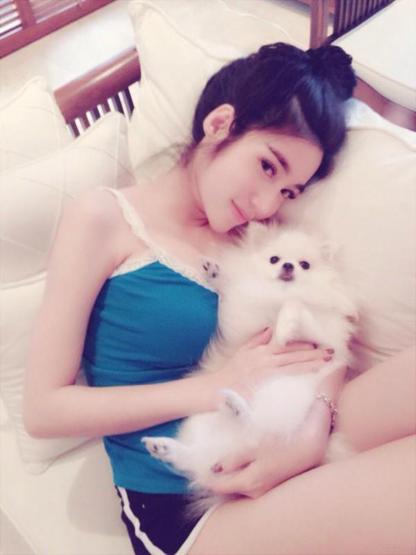 Ngắm hot teen Việt nhắng nhít chụp ảnh cùng thú cưng 13