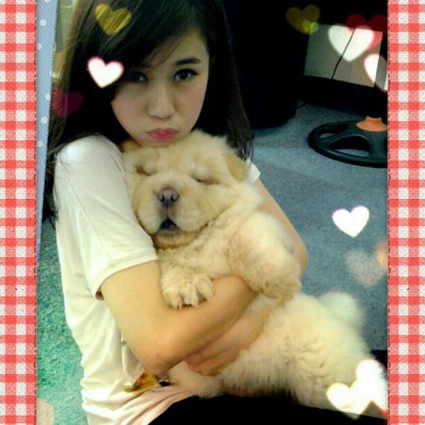 Ngắm hot teen Việt nhắng nhít chụp ảnh cùng thú cưng 8