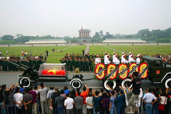 10 ngày tang lễ lịch sử của Đại tướng Võ Nguyên Giáp qua ảnh 25