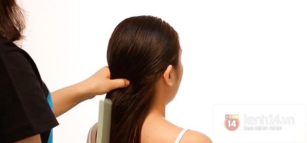 Vừa sấy khô vừa tạo kiểu tóc xoăn bồng bềnh trong 5' 2