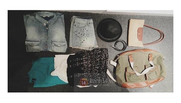 """""""Mix&match"""" 5 item thành 7 set đồ gói gọn trong chiếc túi du lịch tiện dụng 2"""