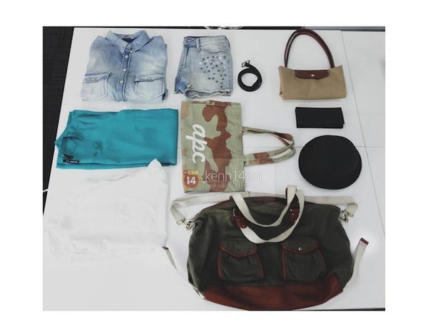 """""""Mix&match"""" 5 item thành 7 set đồ gói gọn trong chiếc túi du lịch tiện dụng 1"""