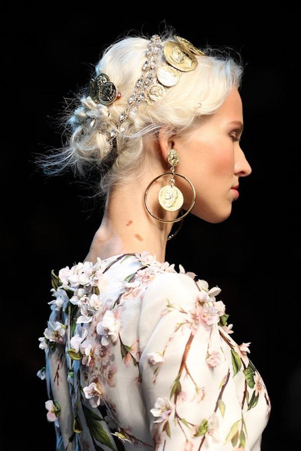 Những xu hướng trang điểm không thể bỏ qua tại Milan Fashion Week 14