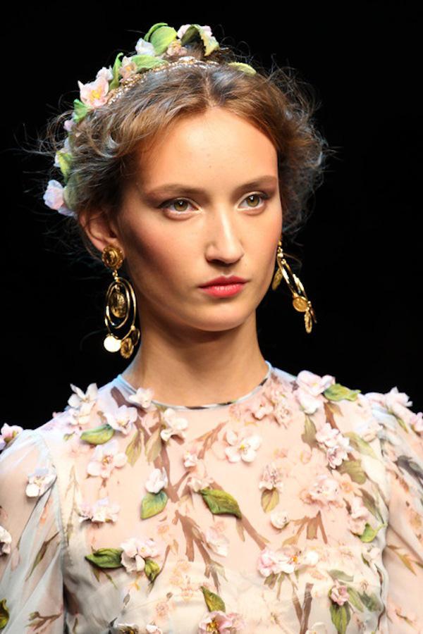 Những xu hướng trang điểm không thể bỏ qua tại Milan Fashion Week 15