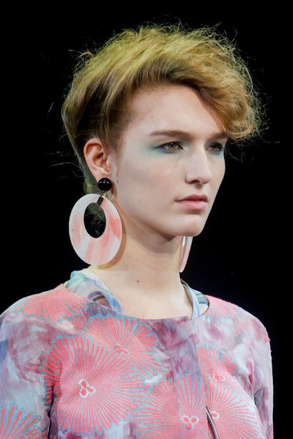 Những xu hướng trang điểm không thể bỏ qua tại Milan Fashion Week 9
