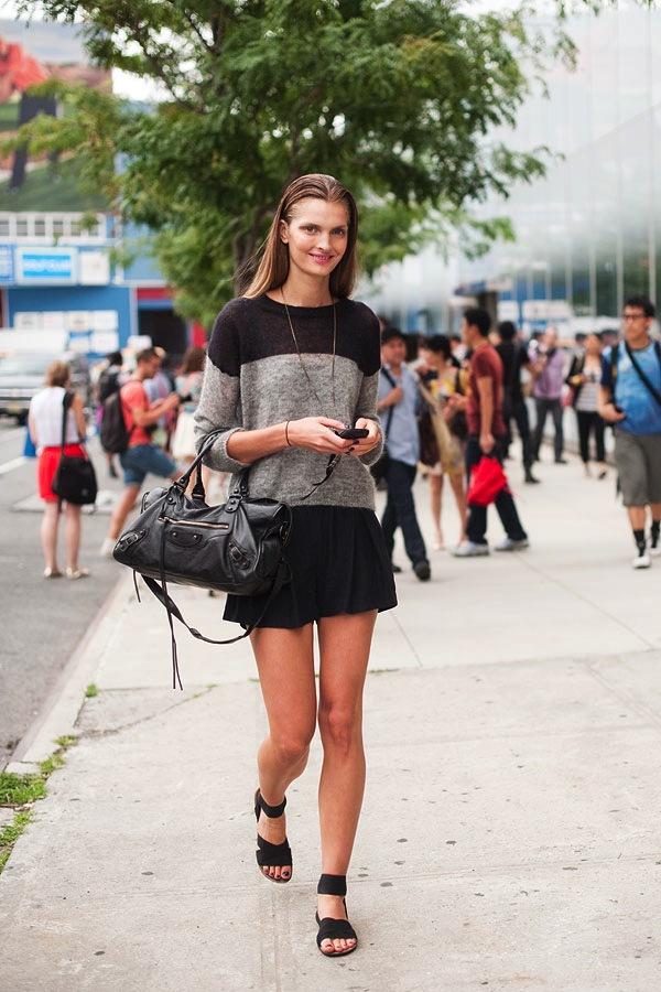 """Skort - Chiếc quần """"tràn ngập"""" street style thế giới Hè 2013 6"""