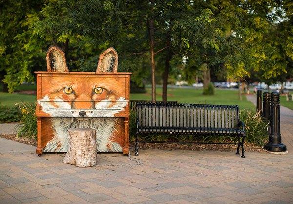 Thích thú với những cây đàn Piano đầy màu sắc trên khắp thế giới 1