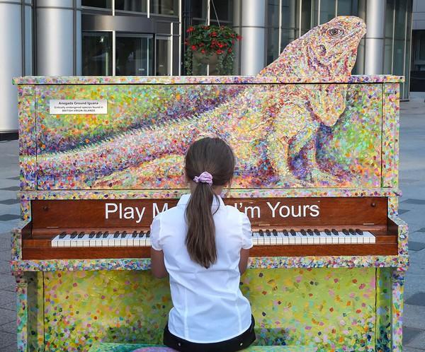 Thích thú với những cây đàn Piano đầy màu sắc trên khắp thế giới 2