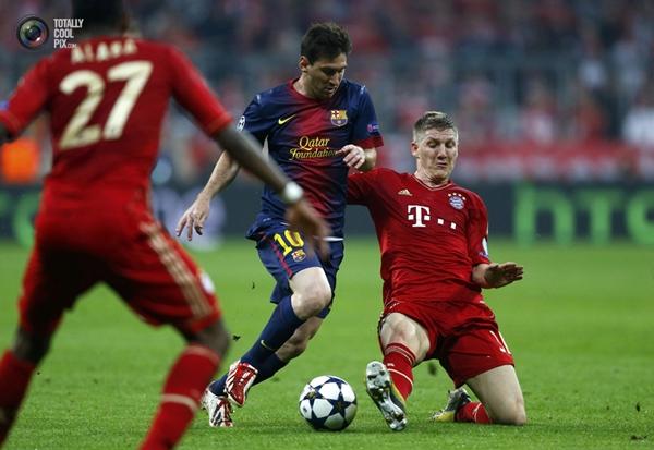 Đội hình tiêu biểu BK lượt đi Champions League: Bundesliga thống trị 5
