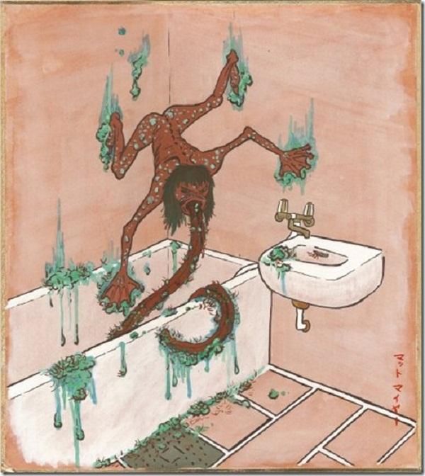Đi tìm quái vật nhà tắm buổi đêm ở Nhật Bản 4