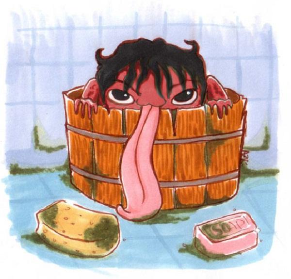 Đi tìm quái vật nhà tắm buổi đêm ở Nhật Bản 5