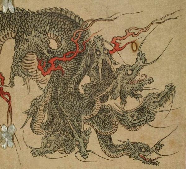 Huyền thoại quái vật rắn 8 đầu 8 đuôi ở Nhật Bản 4