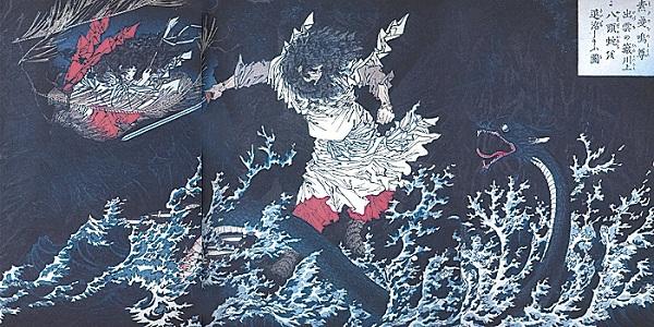 Huyền thoại quái vật rắn 8 đầu 8 đuôi ở Nhật Bản 10