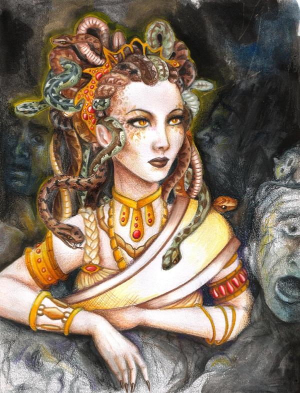 Đi tìm quái vật rắn trong thần thoại Hy Lạp 5