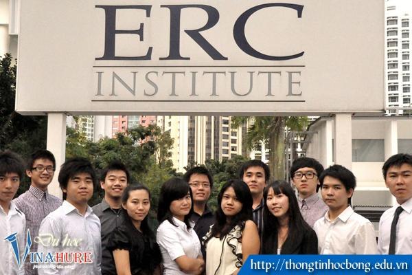 Gặp đại diện tuyển sinh Học viện ERC Singapore tại VINAHURE 1