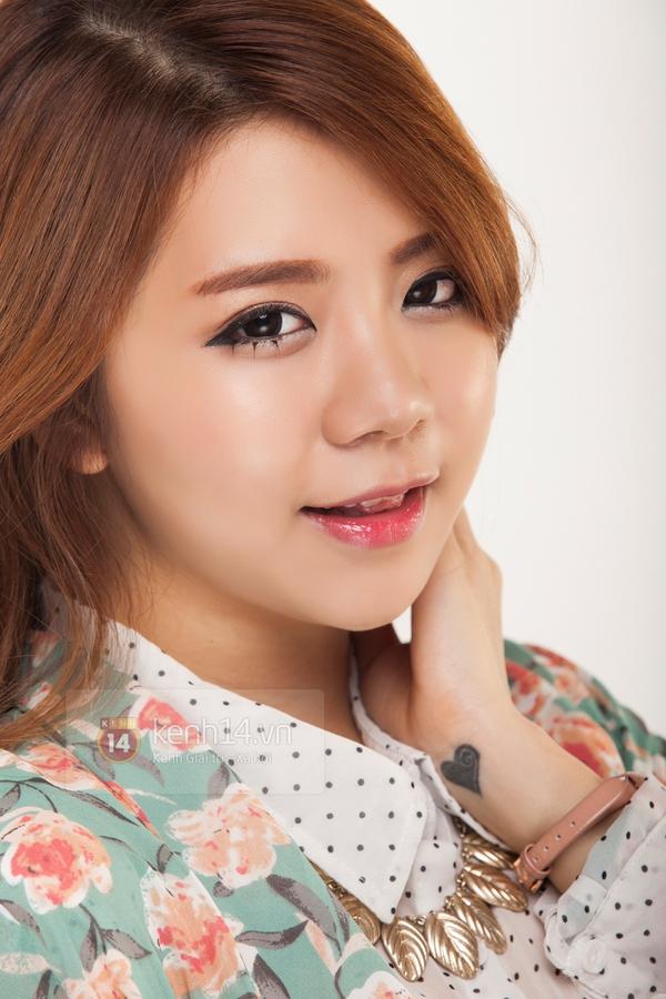 """Cùng Hạt Mít make up theo style """"chuẩn"""" Hàn Quốc 6"""