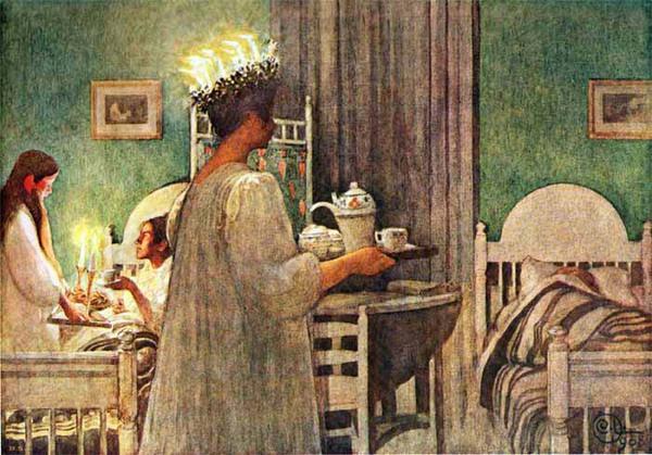 Tình yêu gia đình trong tranh họa sĩ được yêu thích nhất của Thụy Điển 9