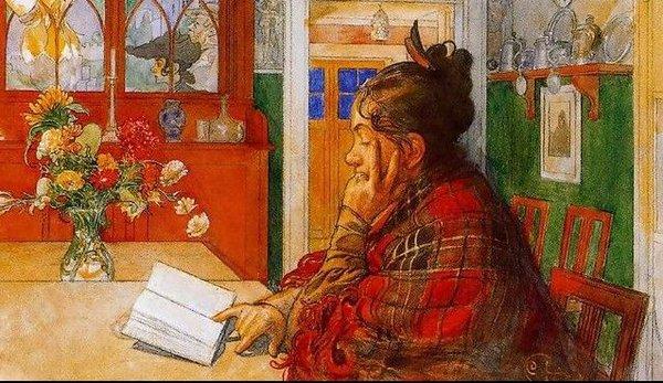 Tình yêu gia đình trong tranh họa sĩ được yêu thích nhất của Thụy Điển 11