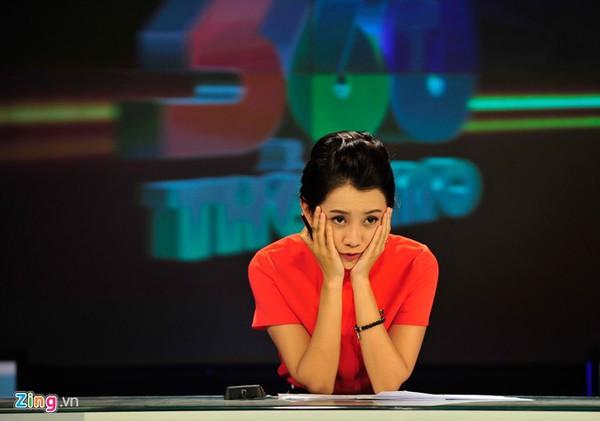 """Quỳnh Chi - MC xinh đẹp của """"Nhịp đập 360 độ thể thao"""" 9"""