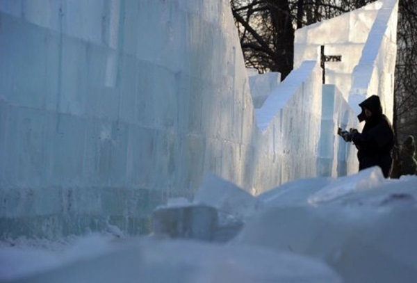 Những hình ảnh đáng sợ về giá lạnh bất thường tại Nga 23