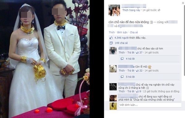 Cô dâu chú rể đeo đầy vàng trong đám cưới khủng ở Lạng Sơn 3