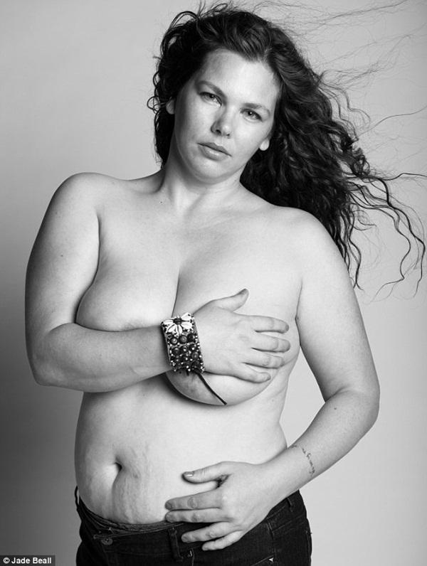 Hình ảnh chân thực về cơ thể của những người phụ nữ sau khi sinh 2