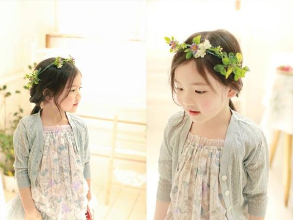 """Cô bé có vẻ đẹp thiên thần gây """"sốt"""" mạng xã hội Hàn Quốc 7"""