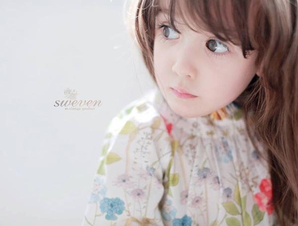 """Cô bé có vẻ đẹp thiên thần gây """"sốt"""" mạng xã hội Hàn Quốc 17"""