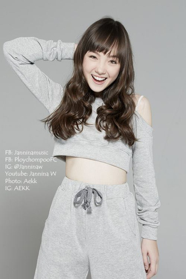 """Hot girl Thái Lan cực xinh cover """"Bèo dạt mây trôi"""" 12"""