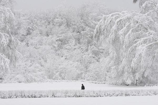 Những hình ảnh đáng sợ về giá lạnh bất thường tại Nga 26