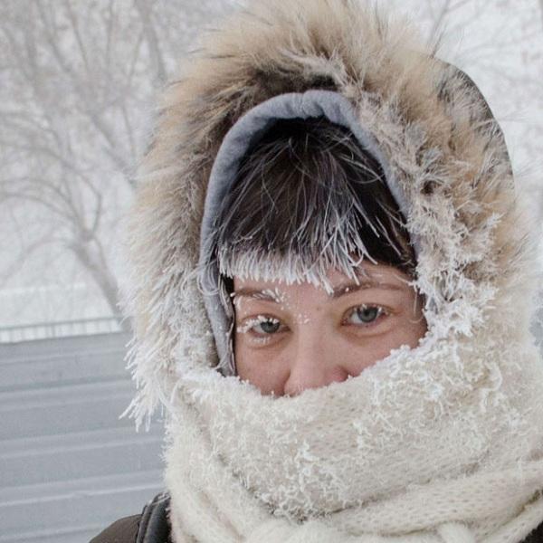 Những hình ảnh đáng sợ về giá lạnh bất thường tại Nga 28