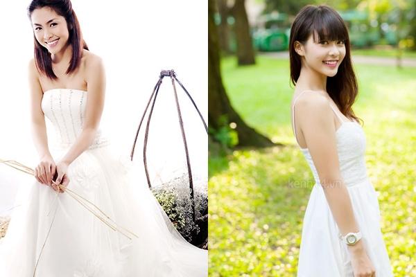 Hai hot girl Việt xinh đẹp cực giống Tăng Thanh Hà 4