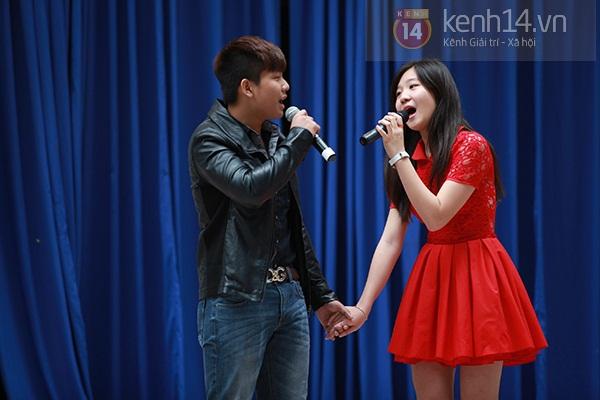 Sa Lim cực xinh làm giám khảo casting cho teen Phan Đình Phùng 17