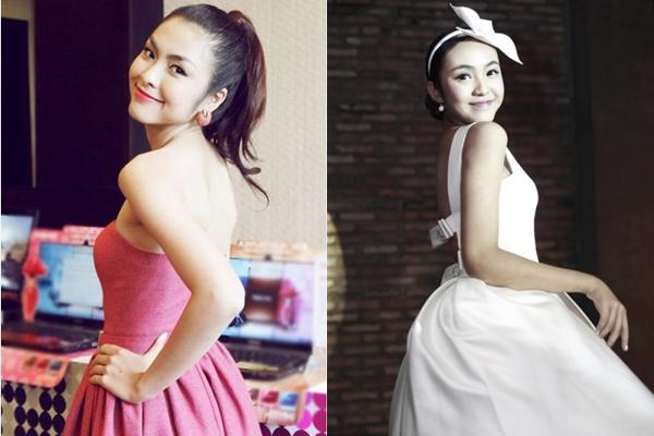 Hai hot girl Việt xinh đẹp cực giống Tăng Thanh Hà 9