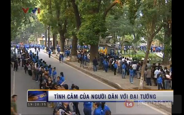 Hết giờ Lễ viếng Quốc tang, nhiều người dân vẫn xếp hàng vào viếng Đại tướng 174