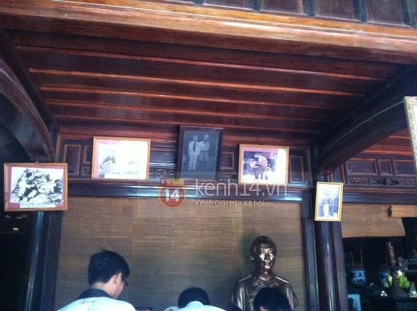 Không khí tiếc thương tại nhà Đại tướng Võ Nguyên Giáp ở Quảng Bình 11