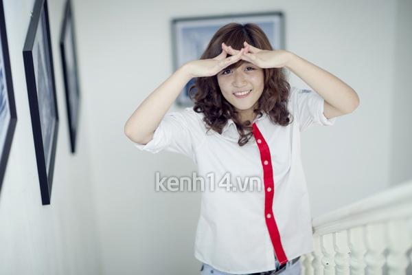 Ngắm hot girl Việt mặc đồng phục giản dị nhưng vẫn cực xinh 3