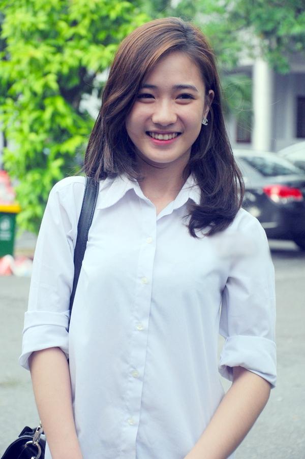 Ngắm hot girl Việt mặc đồng phục giản dị nhưng vẫn cực xinh 11